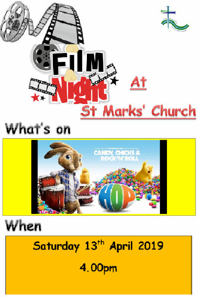St Mark's Film Night April 2019