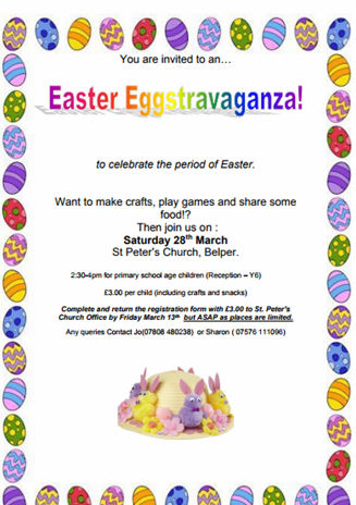 Childrens Easter party 2020