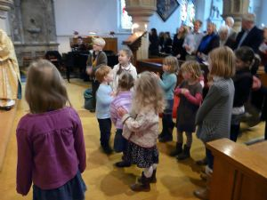 church service children