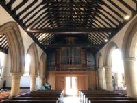 Organ and west door