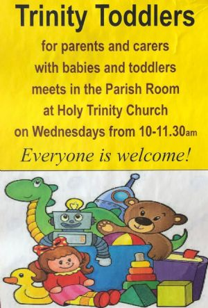 Trinity Toddlers poster