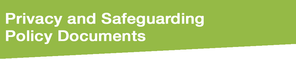 Privacy Safeguardin Policy Banner