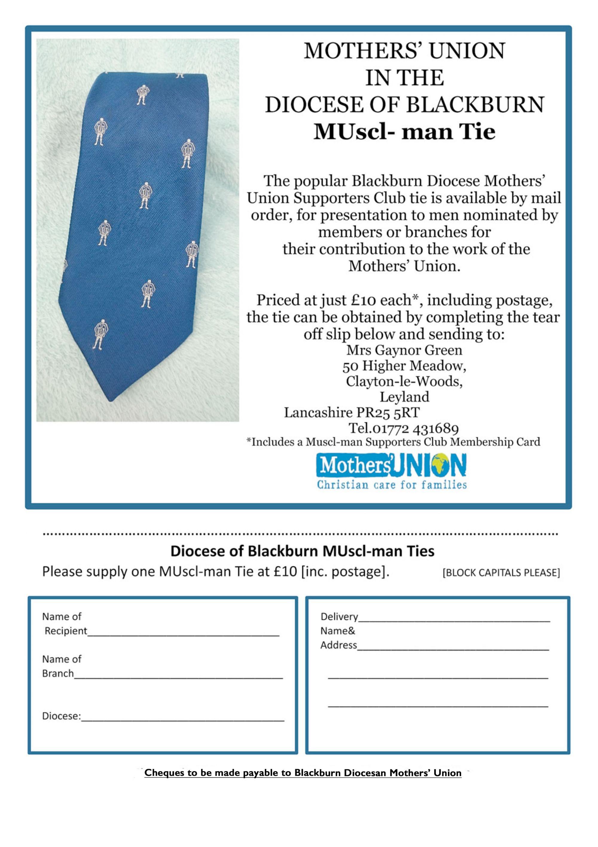 MUscl-man Tie