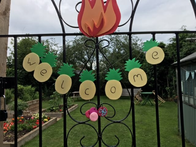 Peppercorn Place Welcome Gate