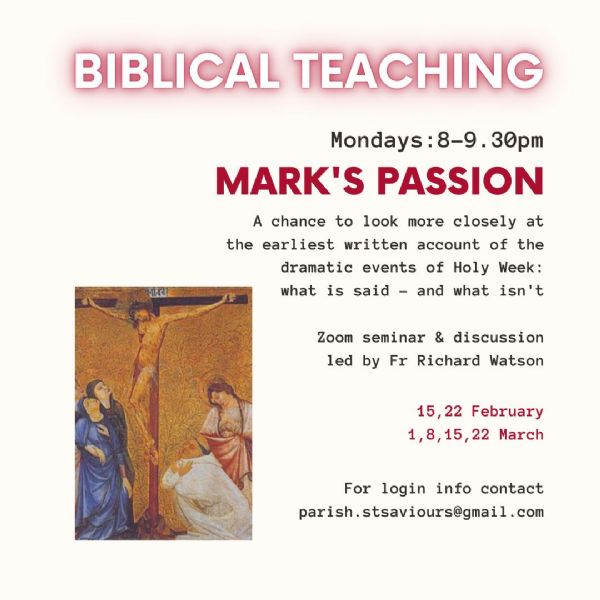 Bible Study - Mark