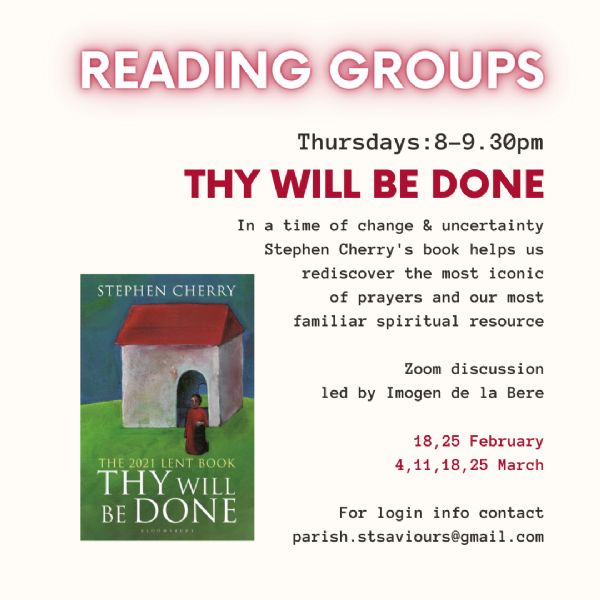 Thy will be done - study