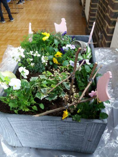 Good Friday - internal Garden