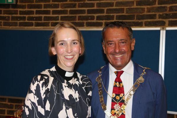 Kate with Mayor