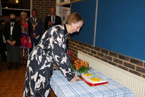 Kate and cake