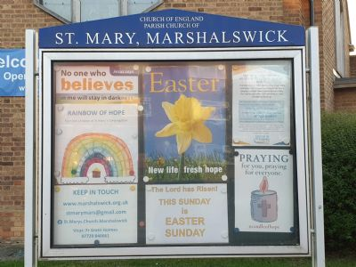 Easter Notice Board
