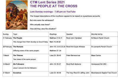 CTM 2021 Lent