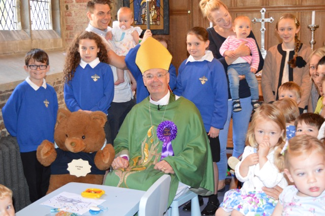 Bishop Richard with children 2