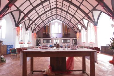Set for communion - Pentecost 2018
