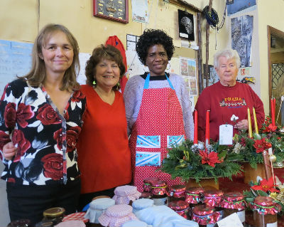 The Preserves and Christmas Arrangements Team