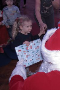 One Happy Girl Gets Her Gift