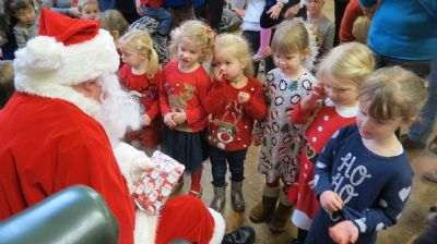 Santa Claus and Six Children