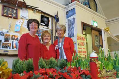 Christmas Fair Plant Stall
