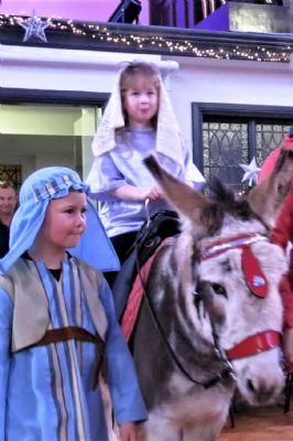 Mary and Joseph Arrive at Bethlehem