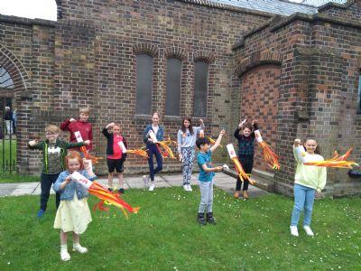 Children's Pentecost Celebration at Allerton
