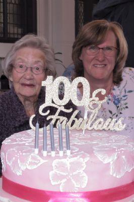 Birthday Girl Pam and Baker Sue