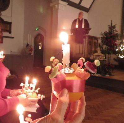Christingle Candle