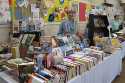 Our bookshop at the Spring Fair