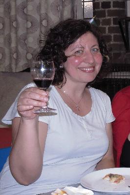 Ciao from Cristina - buon compleanno