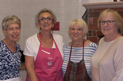 The Kitchen Team Ready for Action