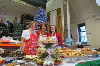 Christmas Fair Cakes Stall