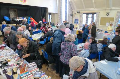 Spring Fair - A crowded Hall