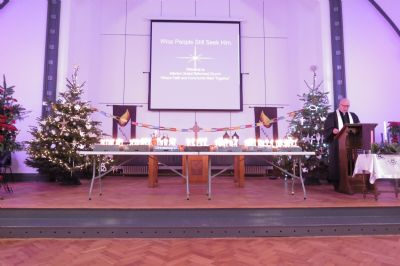 Church Front Before Christingle