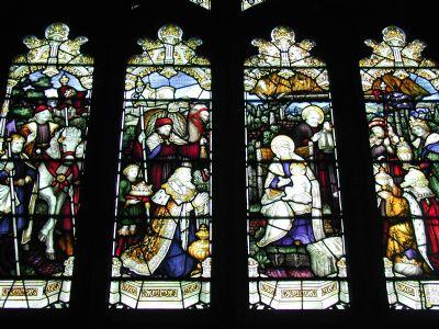kempe Nativity Window