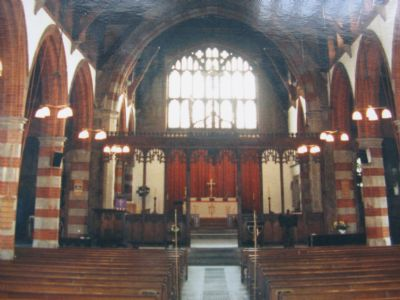 Nave facing East