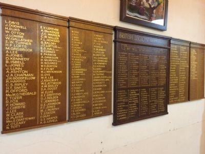 British Legion Boards