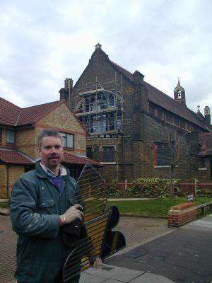 Derek Hunt West Window