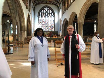 Keziah & Bishop Peter
