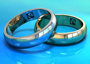 fairtrade gold wedding rings