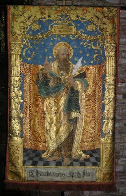 St Bartholomew banner