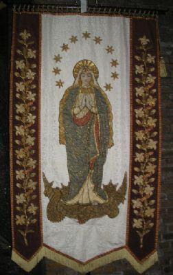 Blessed Virgin banner