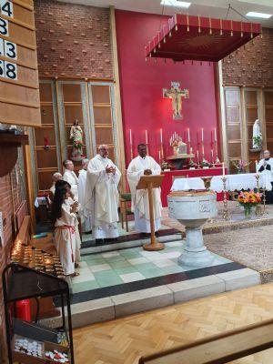 Fr Moheraj first Mass 2019