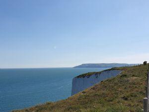 Swouth Wight parish view on sea