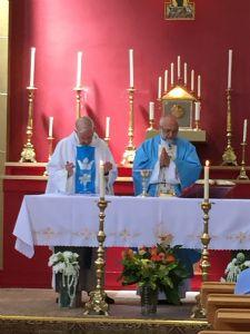Fr Brain and Fr Joe