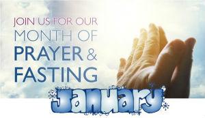 January prayer and fasting