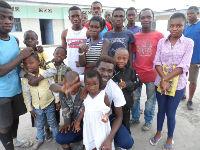 Staff and children at Prokin