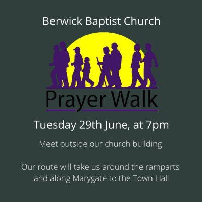 Prayer walk 29th June