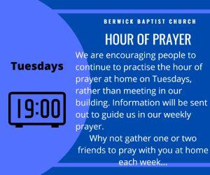 Hour of Prayer Sept 2021