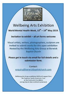 Wellbeing Arts exhibition