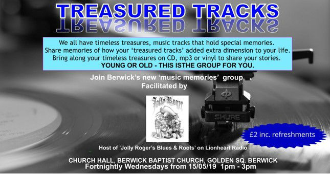 Treasured Tracks event