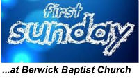 First Sunday logo