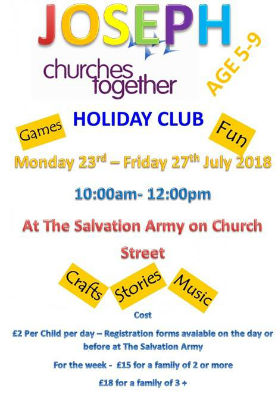 Holiday club information